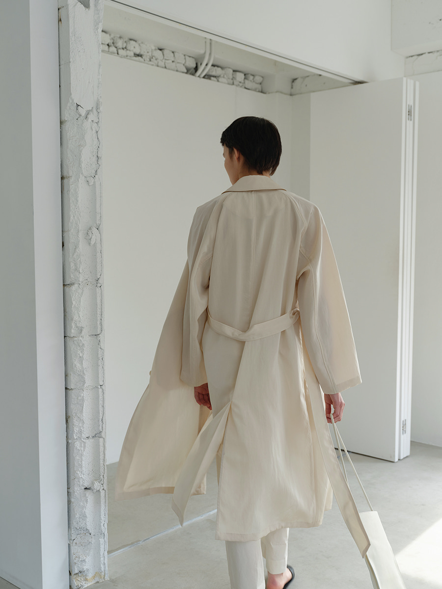summer mac coat  (cream)